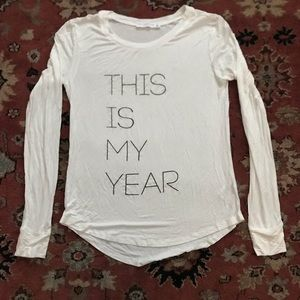 Tops - New year, new me long sleeve shirt